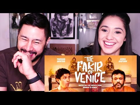 THE FAKIR OF VENICE | Farhan Akhtar | Annu Kapoor | Trailer Reaction! Mp3