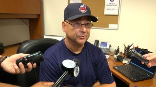 CLE@MIN: Francona on Carrasco's start in 9-3 win
