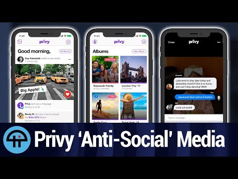 New Private Social Platform App Privy