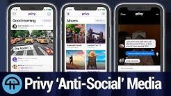 New Private Social Platform App Privy