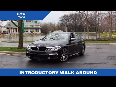 2018 BMW M550 Walk around