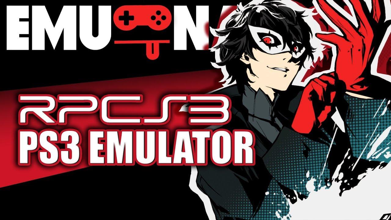 EMU-NATION: RPCS3 Emulator run Persona 5 better than PS4
