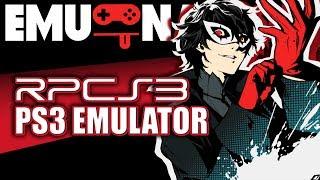 EMU-NATION RPCS3 Emulator run Persona 5 better than PS4