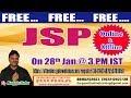 JSP (FREE Batch) Online/Offline Batch in DURGASOFT