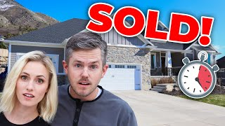 Sold Our HOUSE in 24 HOURS ?| Ellie and Jared