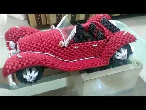 3d Origami Car