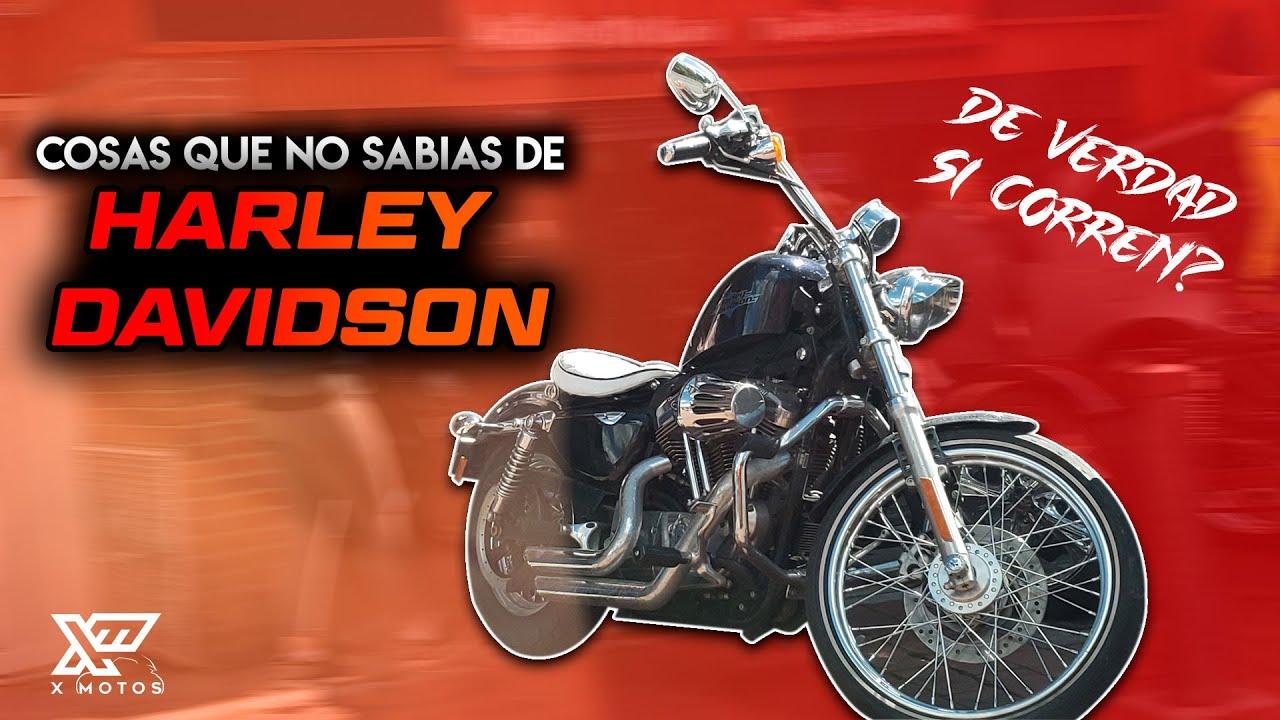 COSAS QUE NO SABIAS DE HARLEY DAVIDSON │ PIQUES EN EL SEMAFORO │X MOTOS