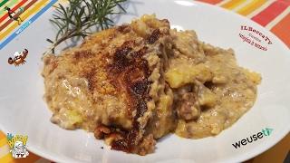 371 -  Lasagne di polenta...se la fame ti tormenta! (primo piatto facile e alternativo con polenta)