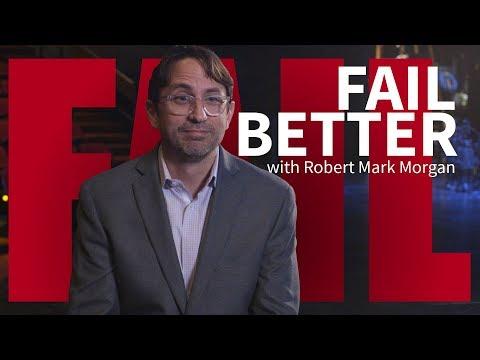 Set designer rebounds after bad review | Fail Better with Robert Mark Morgan | Washington University