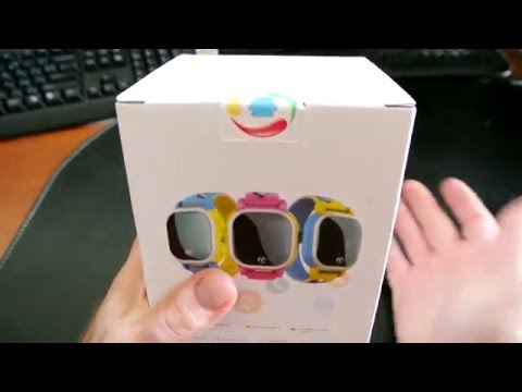 Tencent QQ Watch Smart GPS Tracker for Kids - Unboxing