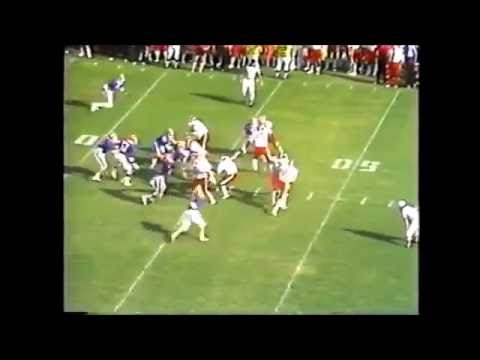 AMP ARNOLD touchdown pass vs. Florida in 1978