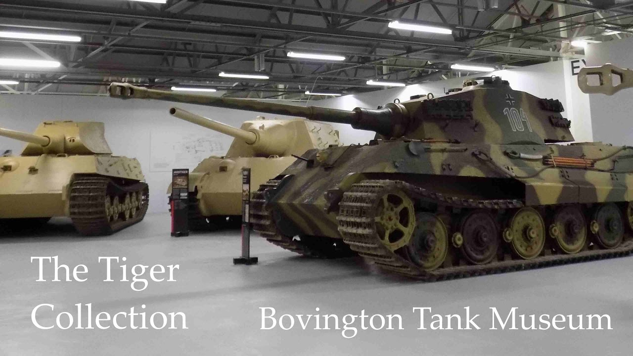 Bovington Tank Museum The Tiger Collection Youtube