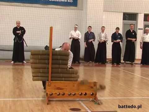 Dotan Giri Tameshigiri Porando Battodo Tai Kai 2009 | Samurai Juku
