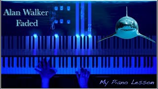 Alan Walker - Faded (Piano Tutorial Cover) видео