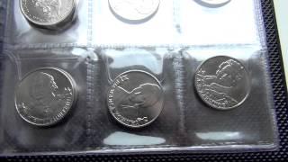 Памятные 2 и 5 рублевые монеты