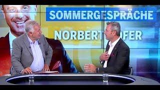 Fellner! Live: Norbert Hofer im Sommergespräch