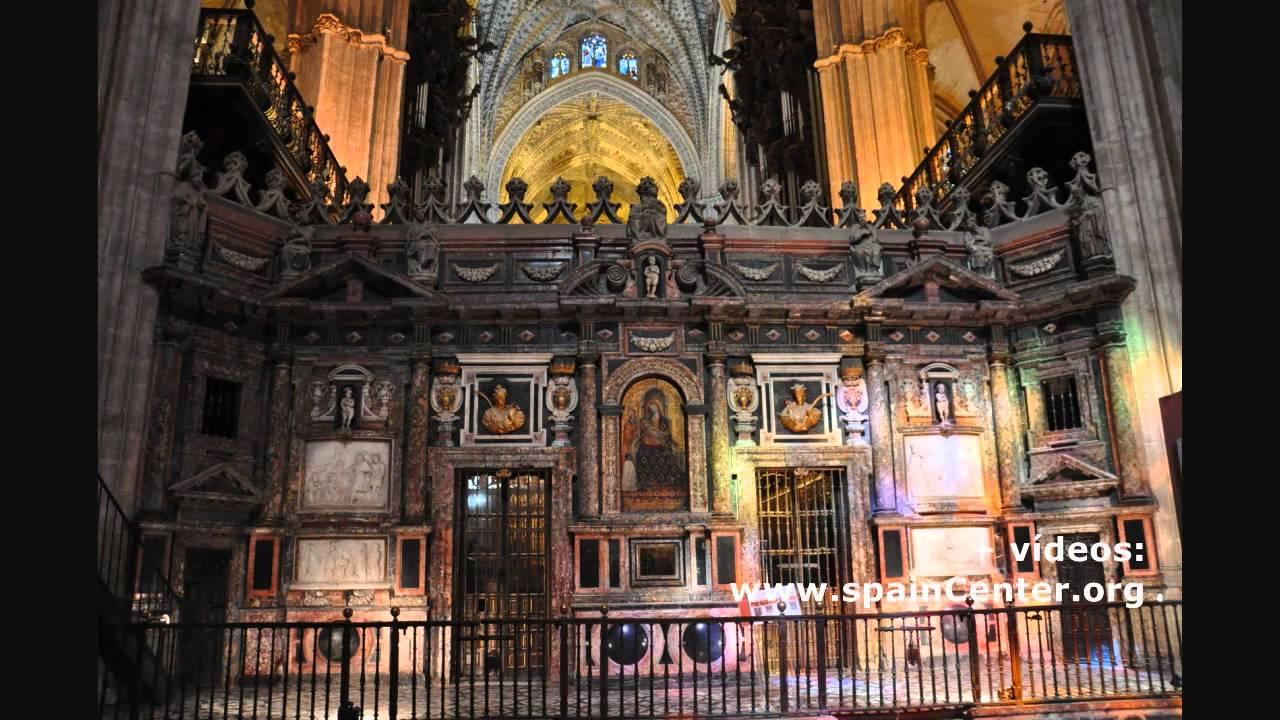 Sevilla catedral interior 2 youtube for Catedral de zamora interior