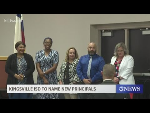 Kingsville ISD Names New Principals
