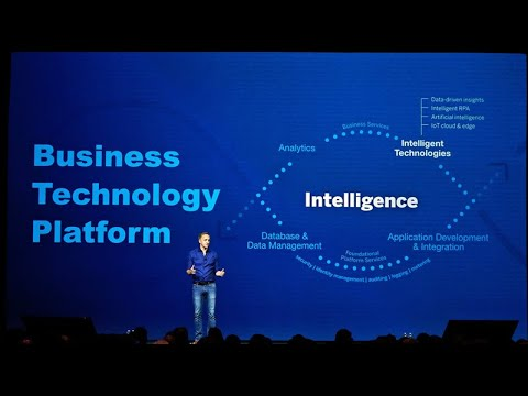 Las Vegas 2019 Keynote: SAP's Business Technology Platform Strategy for the Intelligent Enterprise