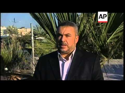REPLAY Hamas reax to date for Palestinian election set for May 4