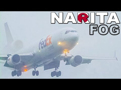 Fog, Condensation, Vortices... a great day at Narita (2011)