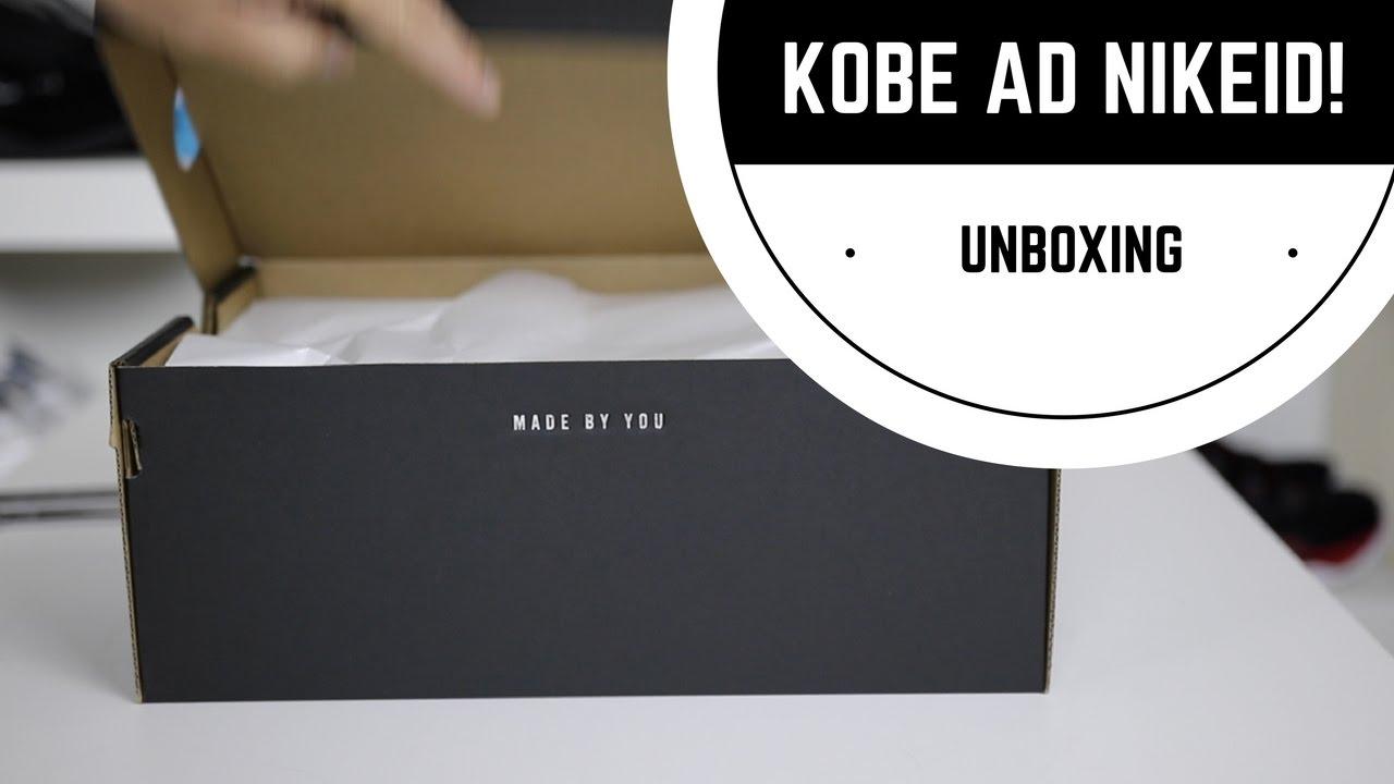 4f586f3c1426 NIKE KOBE A.D. iD BASKETBALL SHOE UNBOXING! - YouTube
