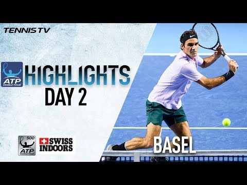 Highlights Federer, Cilic Advance On Tuesday Basel 2017