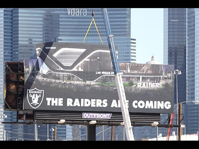 A look at the Raiders stadium site in Las Vegas