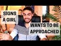 Signs a girl wants to be approached