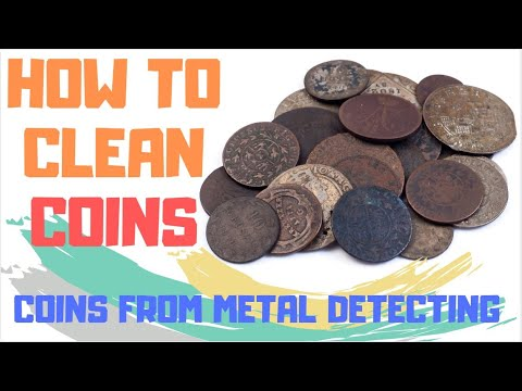 best way to clean old copper coins