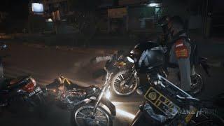 Kejar Pengendara Mencurigakan Sampai Kebanting Motor