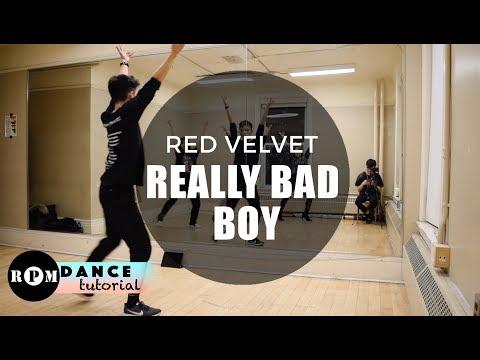"Red Velvet ""Really Bad Boy"" Dance Tutorial (First Pre-Chorus, Chorus)"