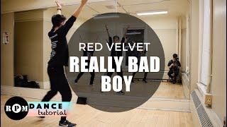 "Red Velvet ""Really Bad Boy"" Dance Tutorial (First Pre-Chorus, Chorus)"