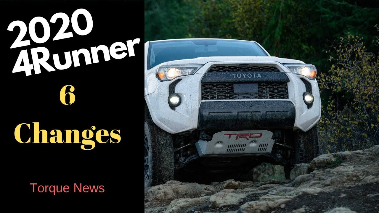 The 2020 Toyota 4Runner Is Bringing Important New Changes