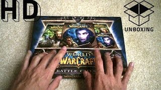 Unboxing | World of Warcraft Battle Chest, Cataclysm, Game Card (Gentle Whisper ASMR)
