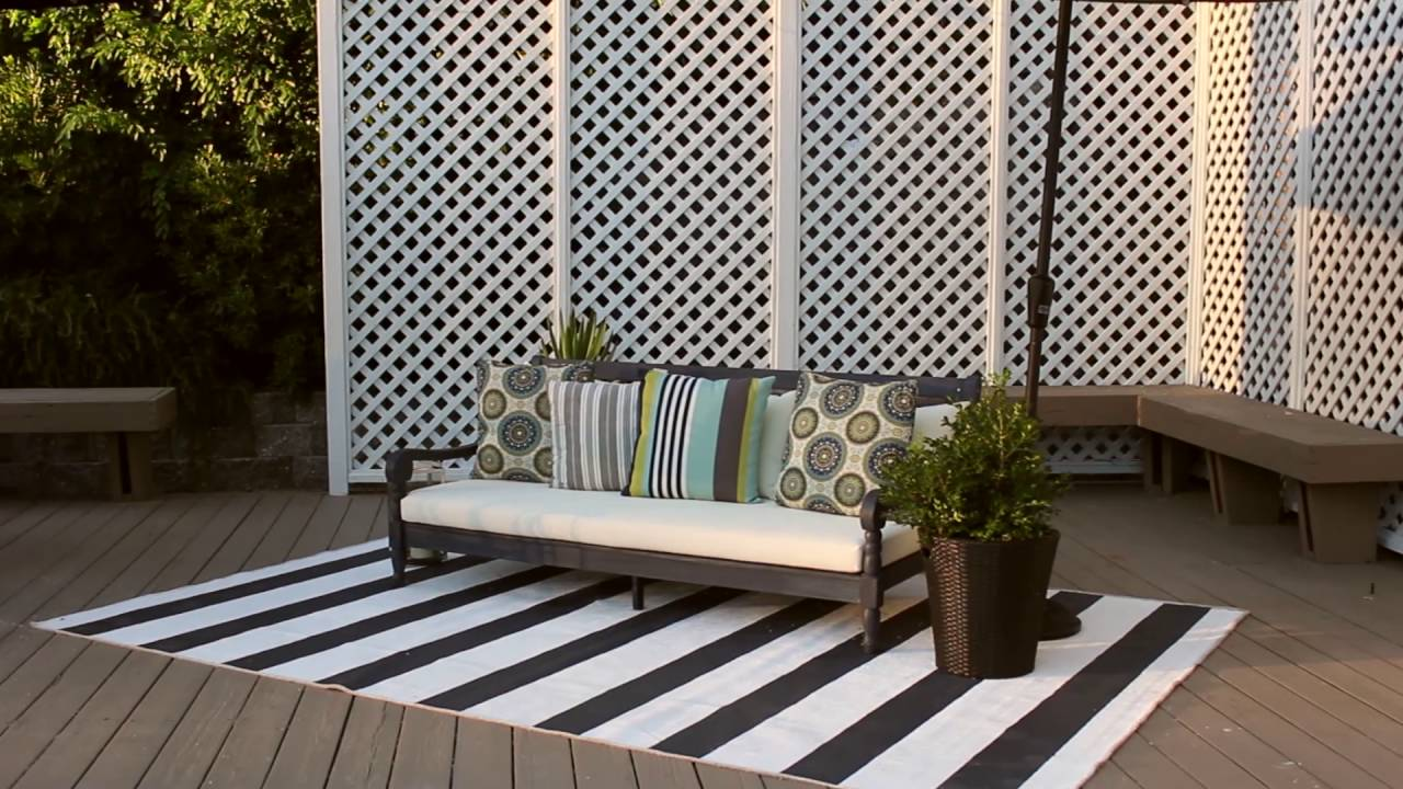 Wonderful Safavieh Outdoor Furniture   The Pasadena Day Bed