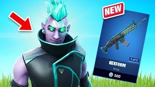 New Vector Skin Gameplay - Total Control Set! (Fortnite Battle Royale)