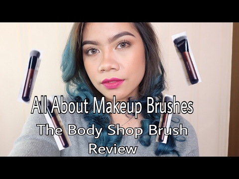 All About Makeup Brushes - Review Brush The Body Shop | Jihan Putri