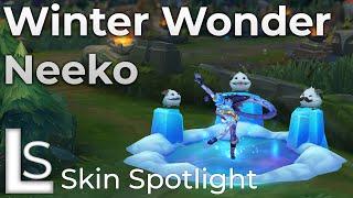 Winter Wonder Neeko - Skin Spotlight - League of Legends