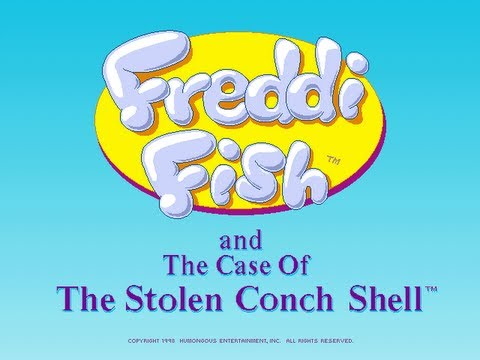 Freddi Fish 3: The Case of the Stolen Conch Shell Walkthrough