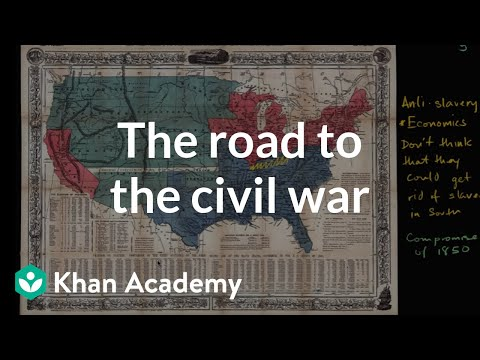 Increasing political battles over slavery in mid 1800s | US History | Khan Academy