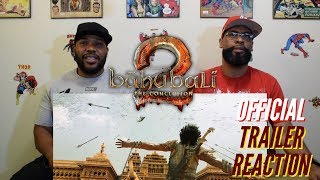 Baahubali 2 The Conclusion Official Trailer Reaction