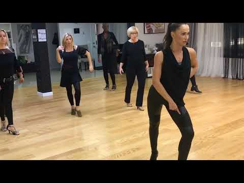Take a dance lesson with Karina Smirnoff of Dancing With the Stars