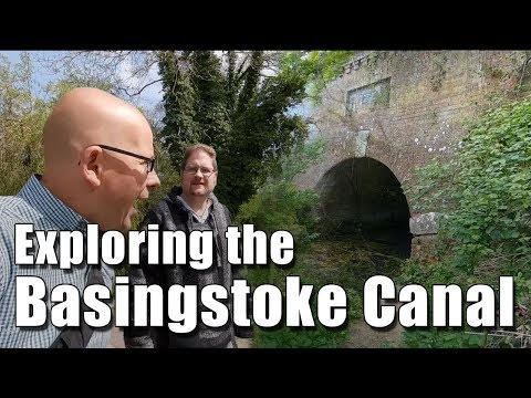 Exploring The Basingstoke Canal And The Greywell Tunnel