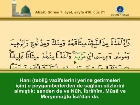 Fatih Çollak - 418.Sayfa - Ahzâb Suresi (7-15)