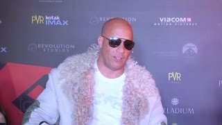 vuclip Vin Diesel Interview In India At XXX Movie Premiere