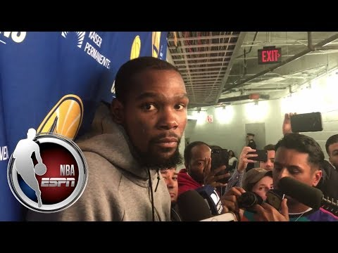 Kevin Durant gives his perspective on Shaun Livingston being ejected | ESPN