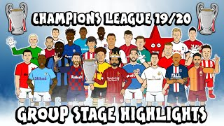 🏆UCL GROUP STAGE HIGHLIGHTS🏆 2019/2020 (UEFA Champions League Best Games and Top Goals)