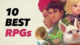 Top 10 RPGs on Switch