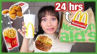 Τρώω ΜΟΝΟ McDonald's για 24 ώρες | Marianna Grfld